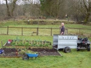 veg bed preparation